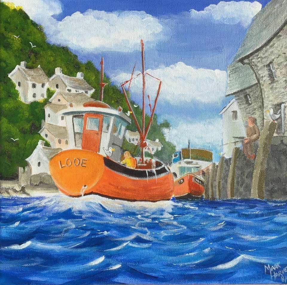 Cornish Fishing boat