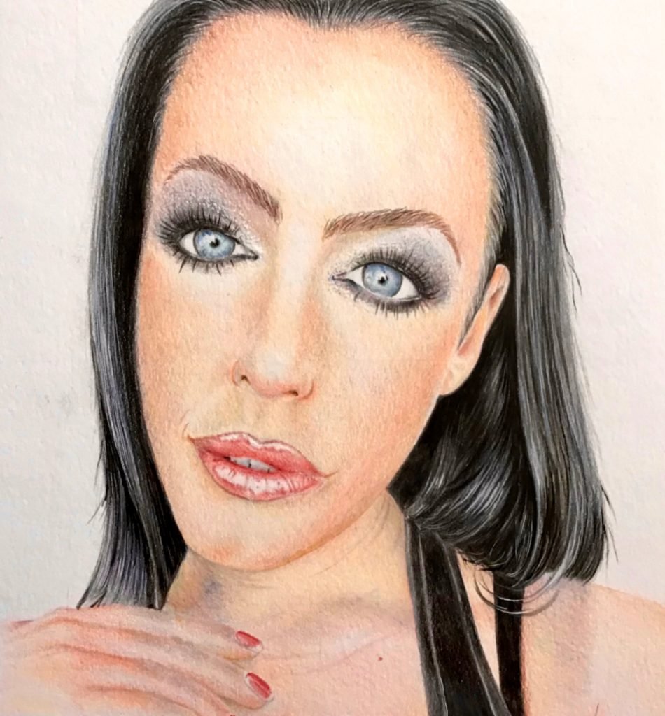 Colour Pencil Portrait